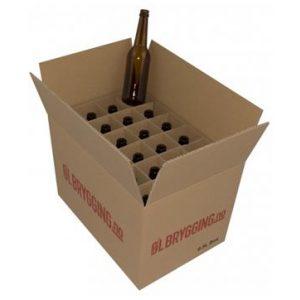 eske med 24 0.5l flasker